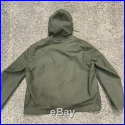 Vintage WW2 US NAVY Anorak Smock Raincoat Size L XL