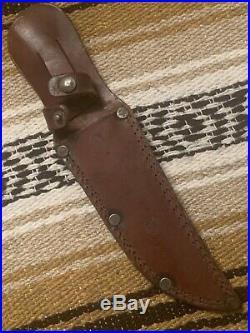 Vintage WW2 Western G46-6 Shark Knife USMC Navy Fighting Commando Knife WithCase