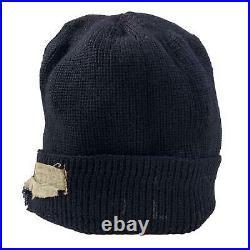 Vintage WWII US Navy USN Wool Knit Watch Cap