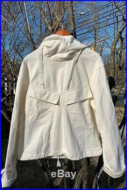 Vintage WWII USN US NAVY Gunner Deck Smock Pull-Over Anorak Coat Jacket. Rare