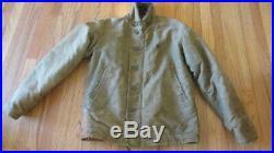 Vintage Wwii N-1 Navy Deck Jacket Uss Leonard F. Mason Dd852 Nxsx Size 38 Talon