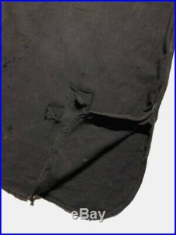 Vtg 1910s Sweet Orr Shirt Chinstrap Workwear Stifel Wabash Stripe USN