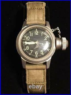 WATCH, BU-SHIPS, U. S. N. Real McCoys USN Manual winding mechanical watch
