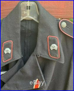 WW1 WWII WW2 Uniform Ike Jacket Navy Army Marine Medal Hired to Sell Collection