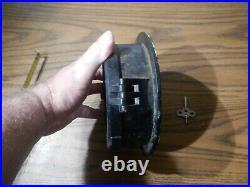WW2 Black CHELSEA Ships Clock Co. U. S. NAVY Works 8