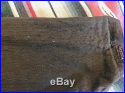 WW2 HBT USN N3 Jacket Size 38 U. S. Navy Herringbone Twill 1940s Vintage
