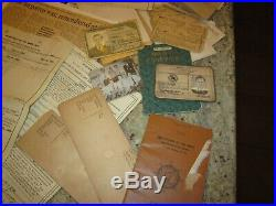 WW2 & Korea Military Navy Named grouping medals paper photos dogtags +++
