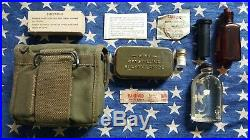 WW2 M2 Jungle First Aid Kit Atabrine USMC Marine Corps Army GI USN Navy Corpsman