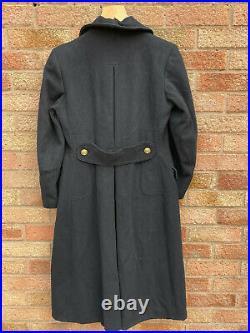 WW2 Royal Navy Officers Greatcoat Renee Bootryman Naval Uniform Military