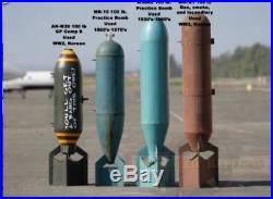 WW2 U. S. Navy Practice Bomb M38A2