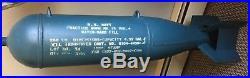 WW2 U. S. Navy Practice Bomb MK15 Mod. 4 Water-Sand Fill