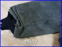 WW2 US Navy Deck Jacket Hook Closure USN, U. S. Navy Stencil Rare
