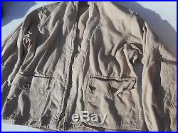 WW2 US Navy USMC M-421A Flight Jacket MFG H&L Block CO. Size 36 Rare