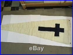 WW2 USMC Naval Chaplains Flag At Sea Church Service Pennant Dated 1943-44 USN