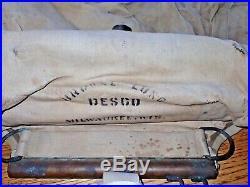 WW2 USN OSS DESCO Browne Lung Rebreather 3-1944 D-Day UDT Frogmen Nice & V RARE