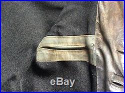 WW2 WWII Kriegsmarine German Navy leather U-boat jacket