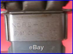 WWII Era USN Mark 2 Fighting Knife Guard Marked R. C. C. WithUSN MK2 Scabbard #1