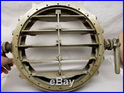 WWII Naval Signal Light Shutter Naval USN Navy Vtg Ship Morse Code Signaling