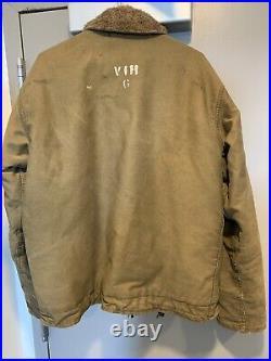 WWII US Navy N1 Deck Jacket World War 2 Size 42