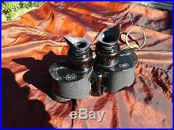 WWII US Navy SARD Mark 43 6x42 wide field binoculars