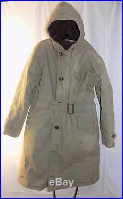 WWII US Navy Torpedoman's Mate Deck Jacket Coat Submariner Alpaca 42 WW2 NxSx