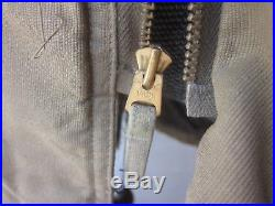 WWII US Navy, USN Marked Khaki N-1 Deck Jacket Parka, sz 38