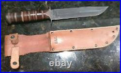 WWII WW2 USN Mark 2 CAMILLUS FIGHTING KNIFE MINT CONDITION Never Used