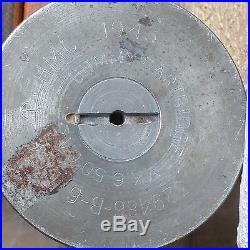 World War II 3 Wood Dummy Cartridge Shell 1943 Navy