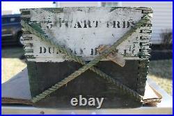 World War II Wwii 3 Wooden Dummy Cartridge Shell (4) 1943 Navy Hmc Mk 6 50 Cal