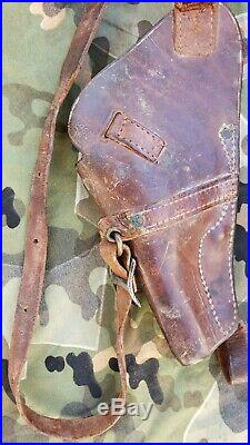Ww 2 Original Usn M3 Pilot's Shoulder Holster For Victory Revolver Boyt 43