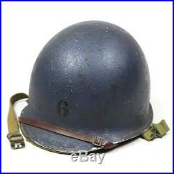 Ww2 Fs Fb Front Seam Fixed Bale Us Navy Usn M1 Helmet 1st Pattern Hawley Liner
