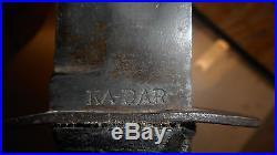 Ww2 Original Ka-bar Usn Combat Fighting Knife Minty Look