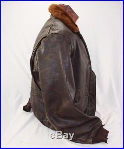 Ww2 Us Navy Gi Flight Jacket Size S2 42
