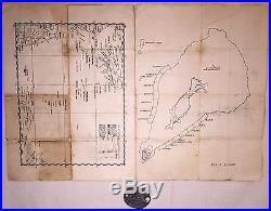 Wwii Usn Us Navy Named Photographs Letters Secret Map Japanese Battle Flag