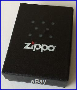 Zippo Windproof U. S. Navy Lighter With Aircraft Carrier, # 28931, New In Box